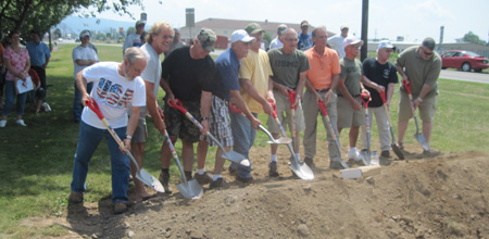 Milroy Veterans Memorial Groundbreaking
